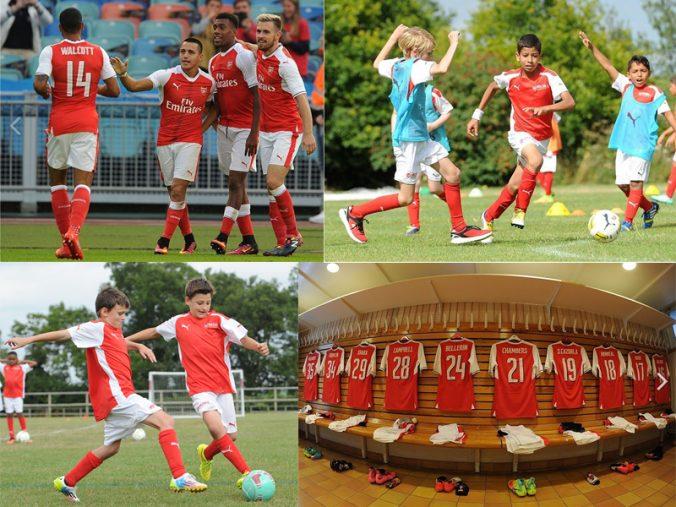 curso de ingles y futbol arsenal