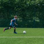 Juega fútbol en Inglaterra durante el verano